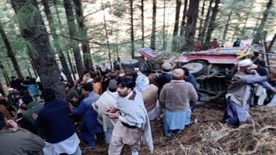 Photo of 13 People Lose Lives Due to Passenger Jeep Fell in Deep Ravine
