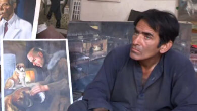 Photo of Quettaite Artist Turned Wielder to Drive Away Hunger