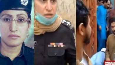 Photo of Women Police Officer in Karachi Cleverly Caught Thief