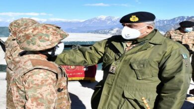 Photo of COAS Visits Forward Troops Deployed Along Line of Control