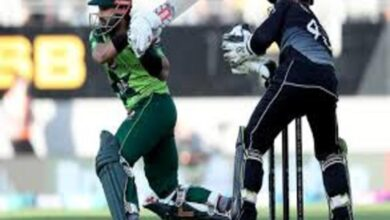 Photo of Pakistan Avert Clean Sweep, Win Third ODI Against Kiwis by 4 Wickets