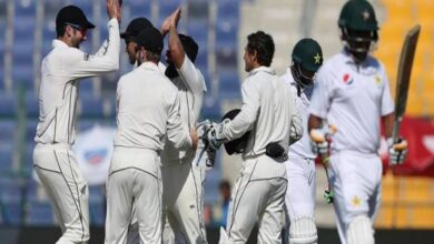 Photo of Pakistan Score 239 Runs in First Innings Against New Zealand
