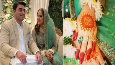 Photo of Nadia Khan Confirms Her Third Marriage on Instagram