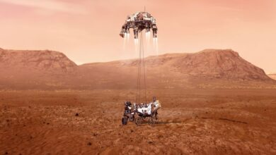 Photo of NASA's Mars Perseverance Rover Safely Lands on Red Planet