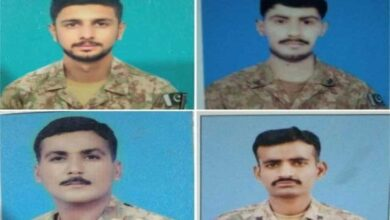 Photo of Four Army Personnel Martyred in Firing Incident in South Waziristan