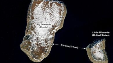 Photo of Two Islands, Distance 3.8 km But Time Difference 20 Hours!!!