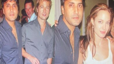 Photo of Adnan Amuses Fans By Sharing Throwback Pictures With Angelina & Brad