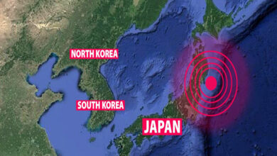 Photo of Tsunami Warning Issued After Earthquake Shakes Eastern Japan