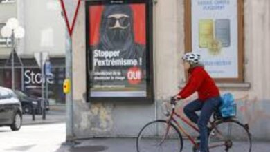 Photo of Swiss to Vote on Banning Niqab in Public Referendum on Sunday