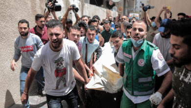 Photo of Israeli Bombing in Gaza Death Toll Reaches to 43, Hundreds Injured