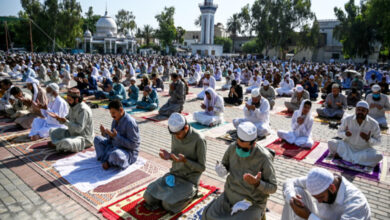 Photo of Eid-ul-Adha is Being Celebrated with Religious Fervor in Pakistan Today