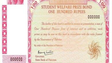 Photo of Rs. 100 Prize Bond Draw