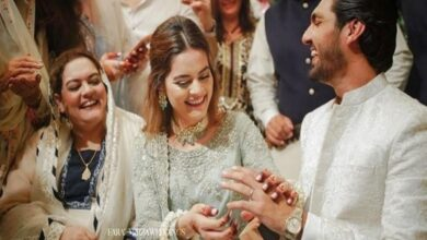 Photo of Engagement Pictures of Minal Khan & Ahsan Mohsin Viral On Social Media