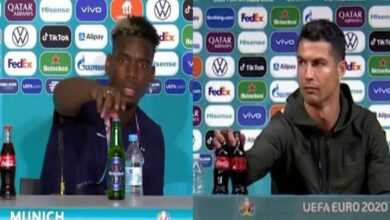Photo of Coca-Cola Suffers Loss As Ronaldo Moved Bottles During Press Conference