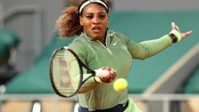 Photo of Serena Survives Scare in French Open's First Night Match