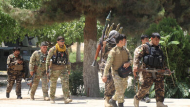 Photo of Afghan Soldiers Take Refuge in Tajikistan to Escape Taliban