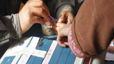 Photo of Ballots Replace Bullets in Remote Part of Pakistan-administered Kashmir