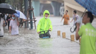 Photo of China's Henan Province Swamped After Heaviest Rain in 1,000 Years