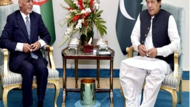Photo of PM Imran Meets Afghan President Ghani During Conference in Tashkent