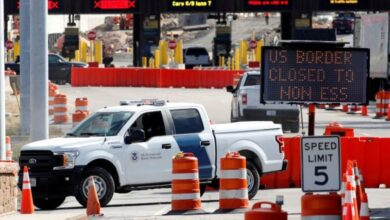 Photo of US Extends Travel Curbs at Canada, Mexico Land Borders
