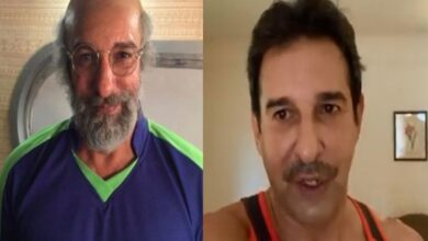 Photo of After the Mustache, Now Wasim Akram is Bald